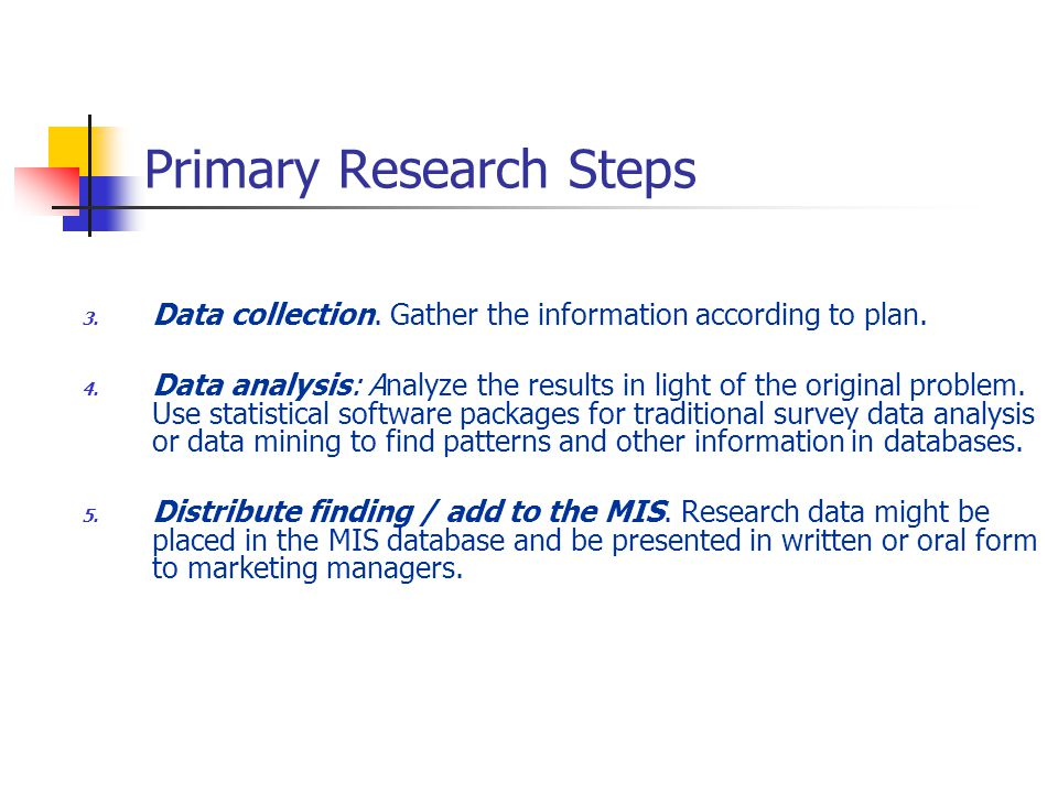 primary data in research Primary research is market research performed to meet specific needs secondary research uses the work of others and applies it to your company.