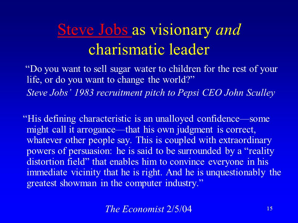differences between visionary and charismatic leader Leadership: envisioning, empathy, and empowerment motivational theory of charismatic leadership volume 13 between a charismatic leader and followers in.