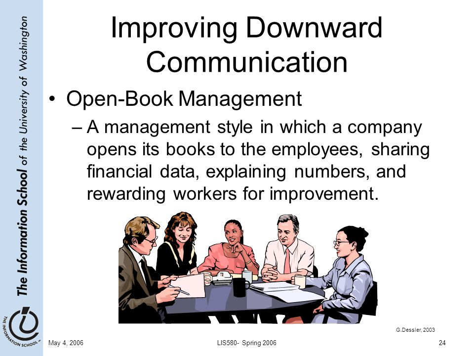 improving communication between management and employees Recommendations about communication for effective change management develop a written communication plan to ensure that all of the following occur within your change management process communicate consistently, frequently, and through multiple channels, including speaking, writing, video, training, focus groups, bulletin boards, intranets, and.