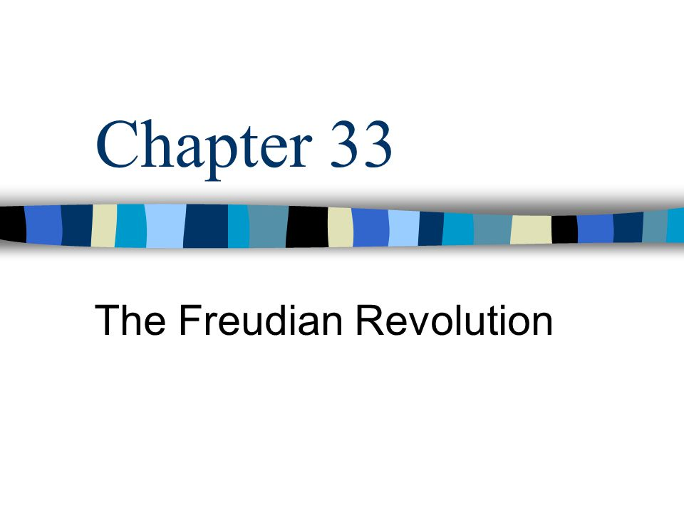 The Freudian Revolution