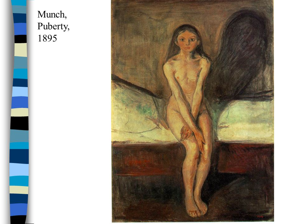 Munch, Puberty, 1895