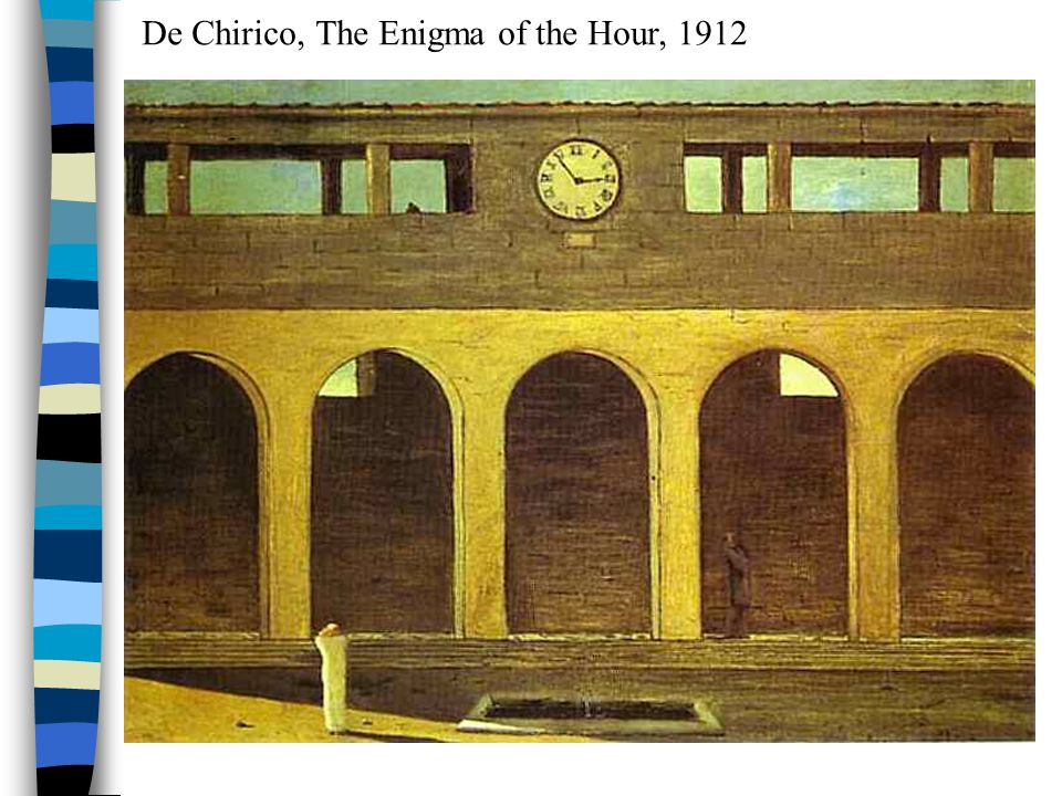 De Chirico, The Enigma of the Hour, 1912