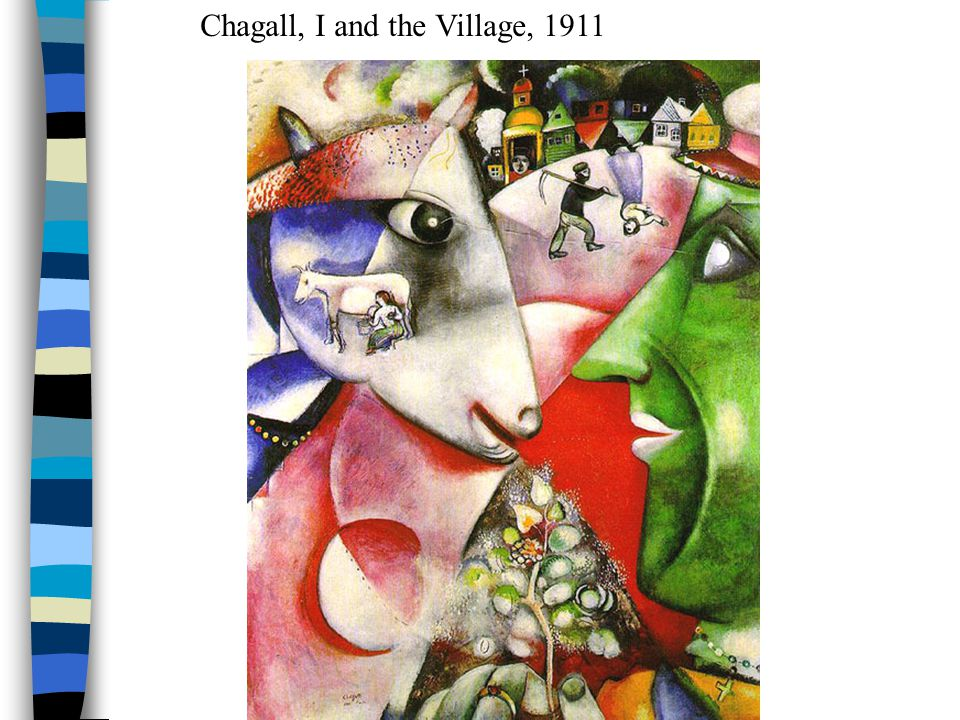 Chagall, I and the Village, 1911