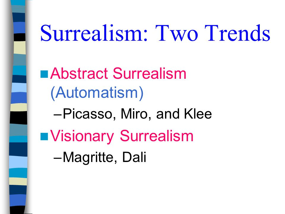 Surrealism: Two Trends