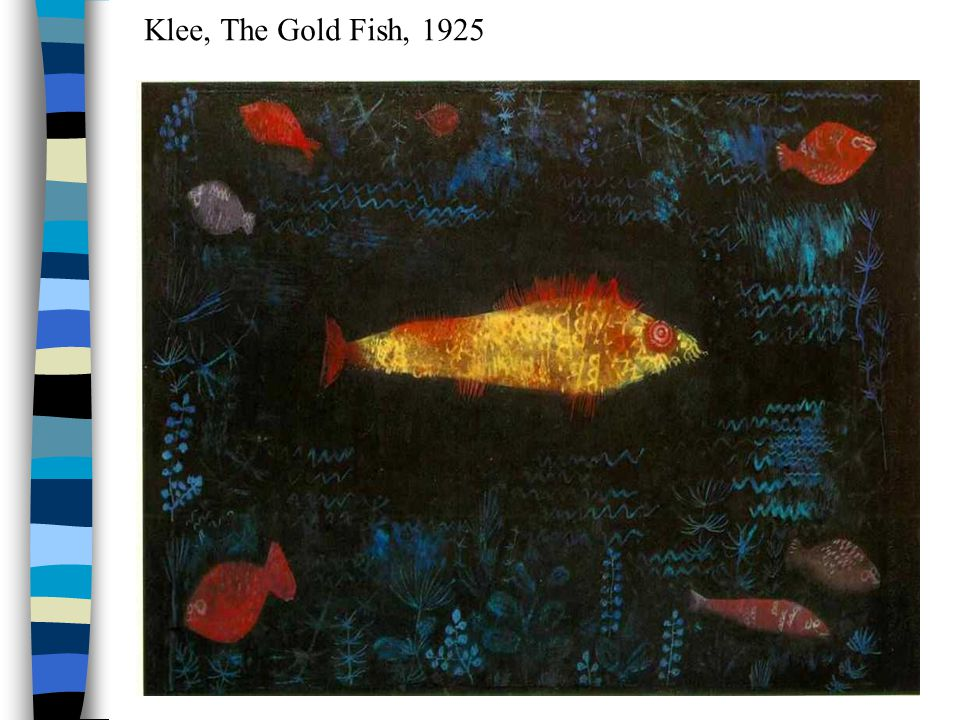 Klee, The Gold Fish, 1925
