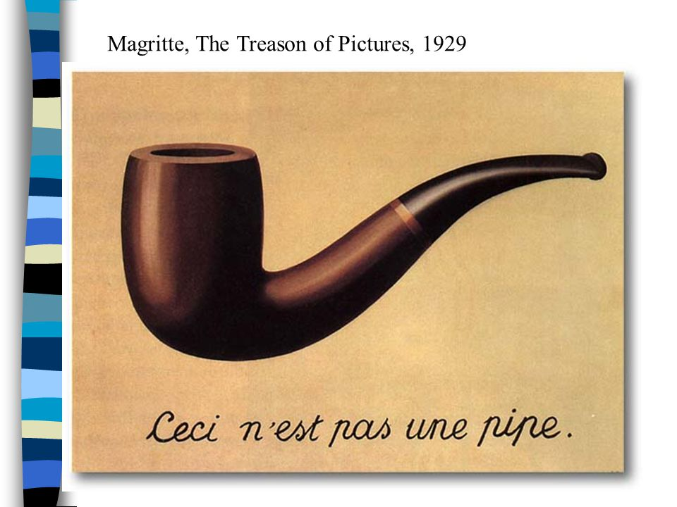 Magritte, The Treason of Pictures, 1929