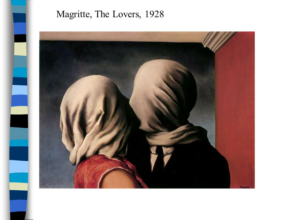 Magritte, The Lovers, 1928
