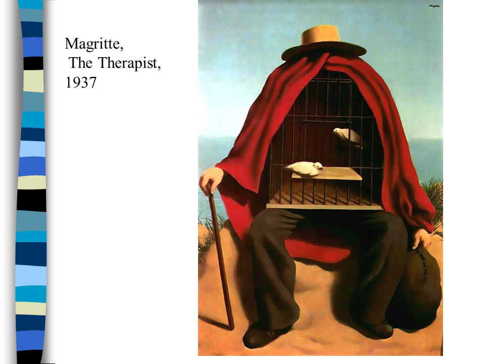 Magritte, The Therapist, 1937