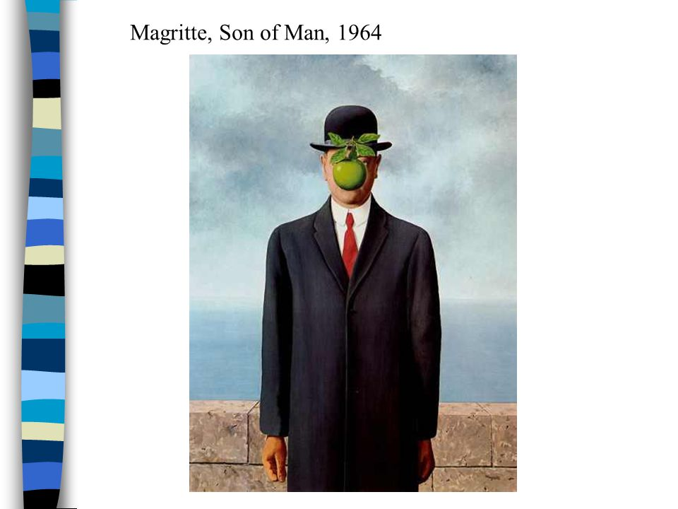 Magritte, Son of Man, 1964