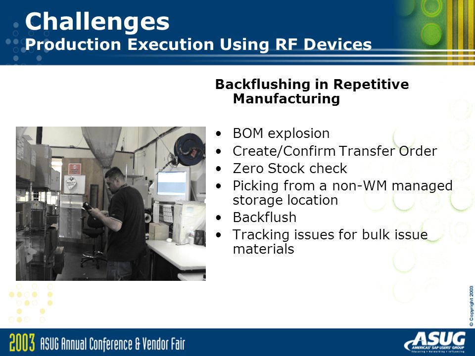 Sap On Handheld Challenges In Implementing Wm With Rf
