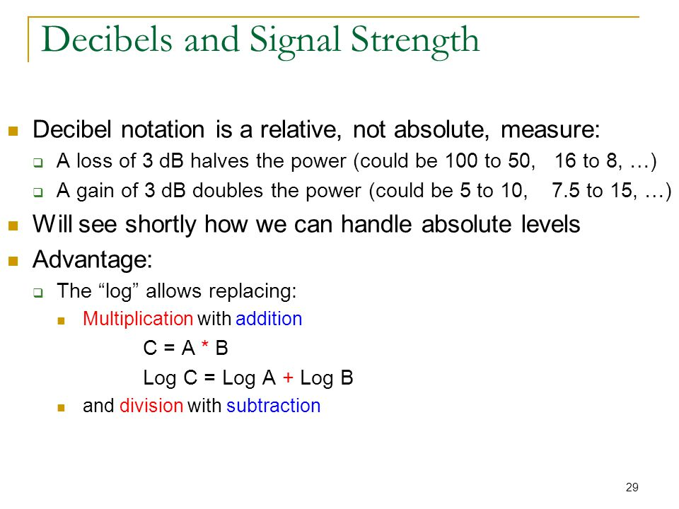 absolute and relative gain Another absolute measure of power called the dbk scale references 0 dbk at 1 kw, or 1000 watts review: the unit of the bel or decibel may also be used to represent an absolute measurement of power rather than just a relative gain or loss.