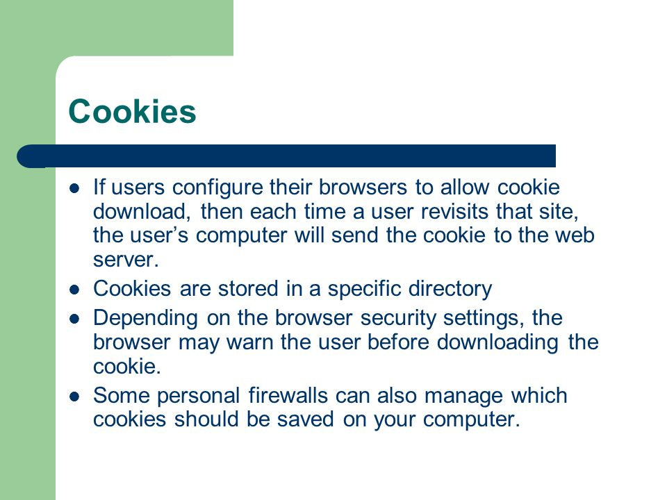 how to allow cookies on computer