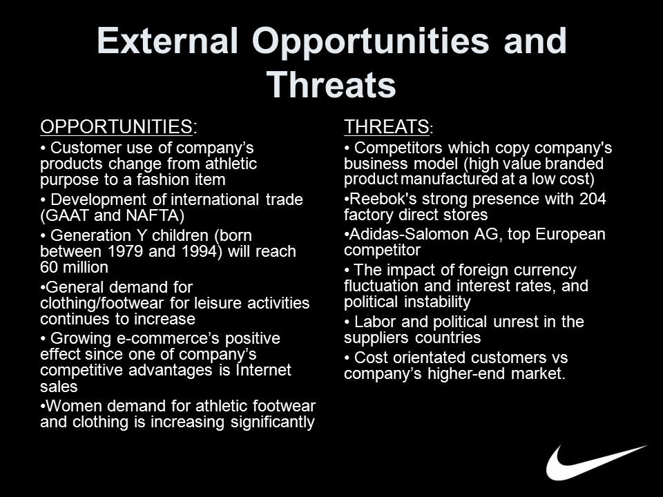 external opportunities and threats of avon company Avon rubber plc fundamental company report provides  about the internal and external factors affecting  opportunities 35 threats 4 avon rubber plc.