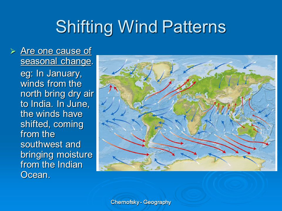 Shifting Wind Patterns