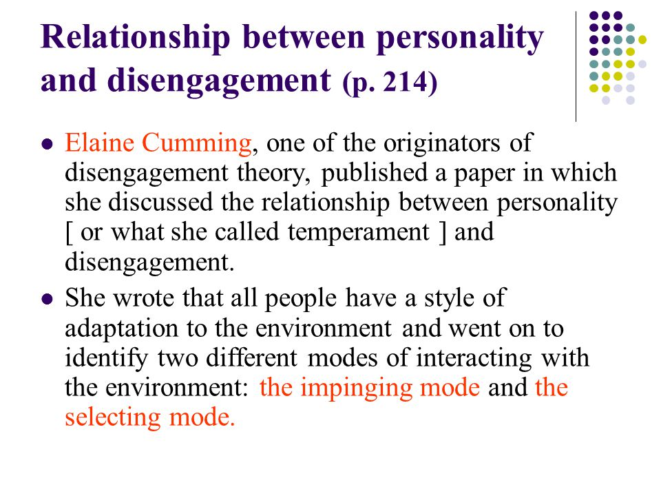 relationship between education and personality