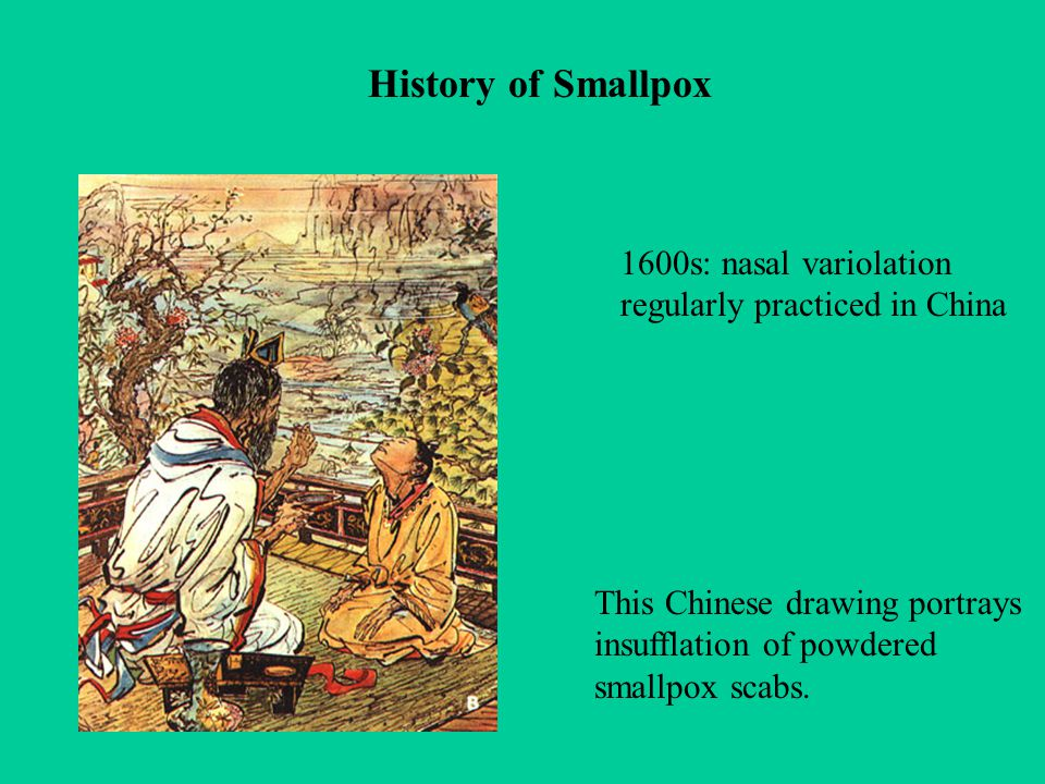 """an introduction to the history of smallpox Edward jenner, cowpox, and smallpox vaccination we begin our history of  vaccines and immunization with the story of edward jenner,  google scholar  17 jg rigau-perez , """"the introduction of smallpox vaccine in."""