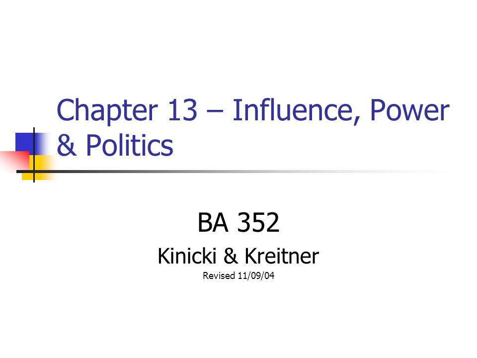 kreitner and kinicki chapter 6 case study