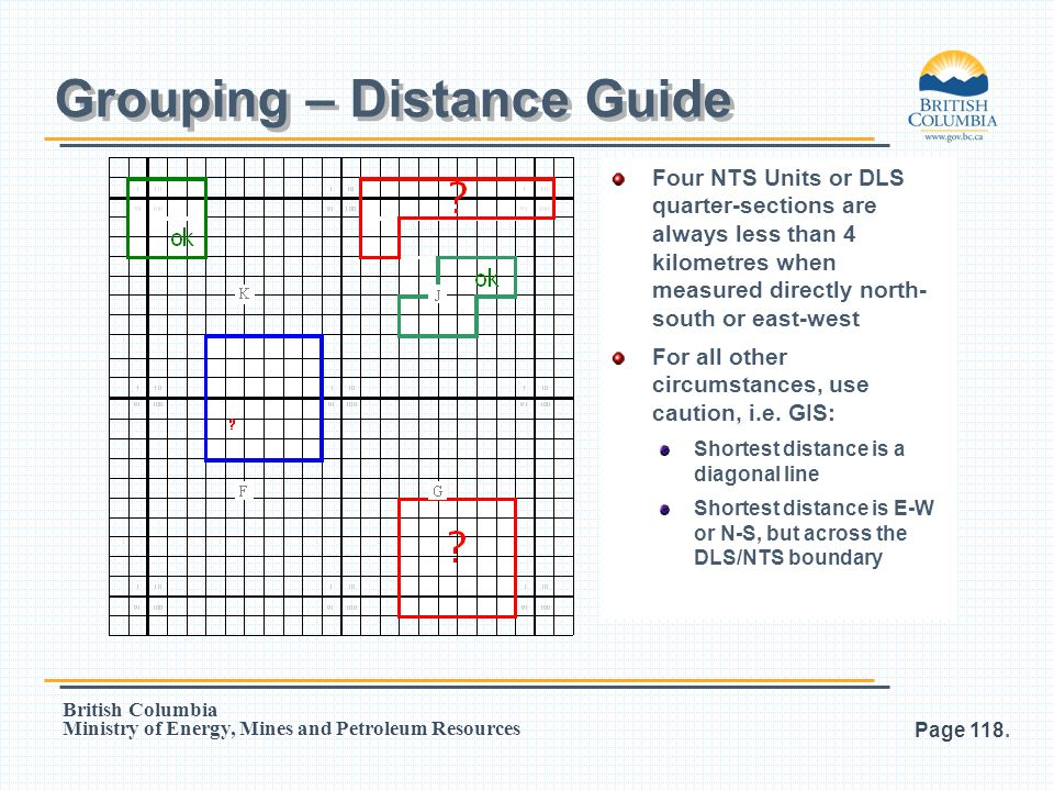 Grouping – Distance Guide