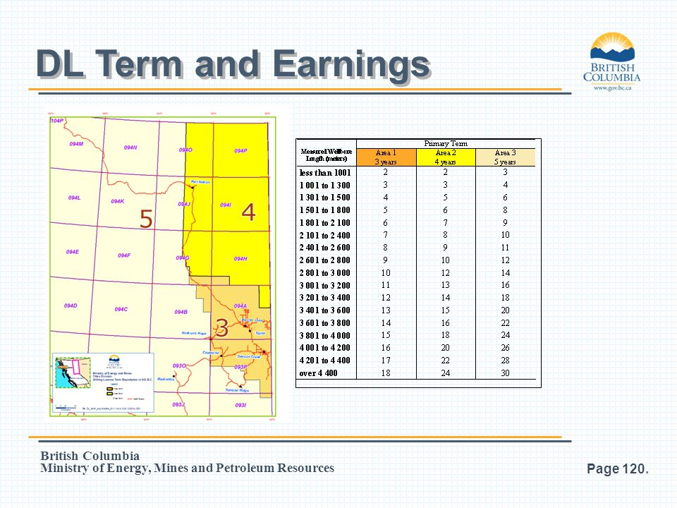 DL Term and Earnings