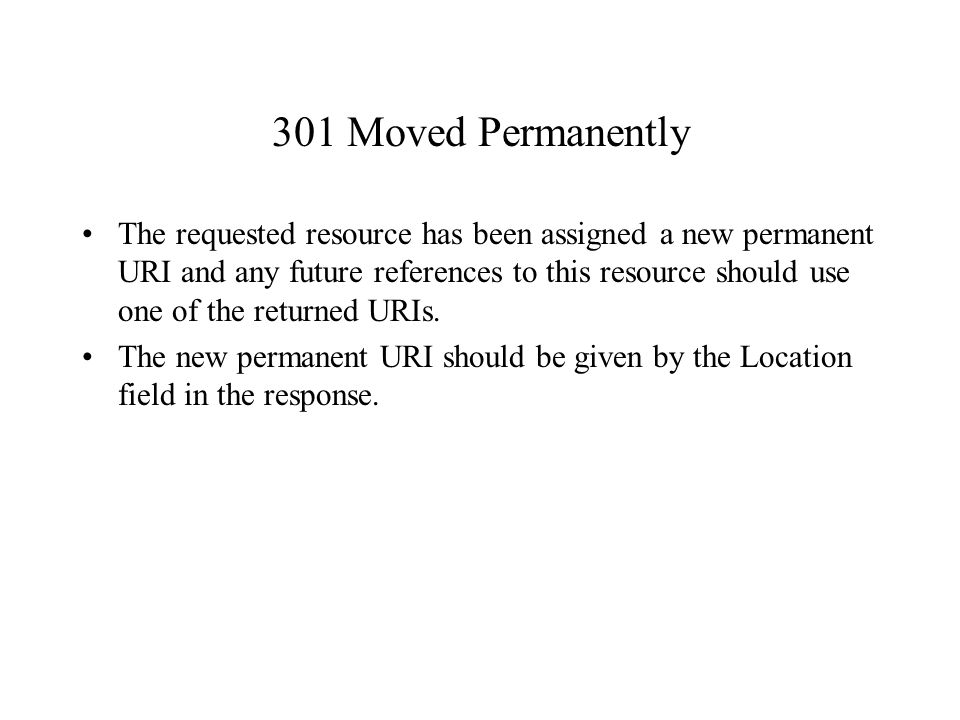 301 Moved Permanently: Ppt Download