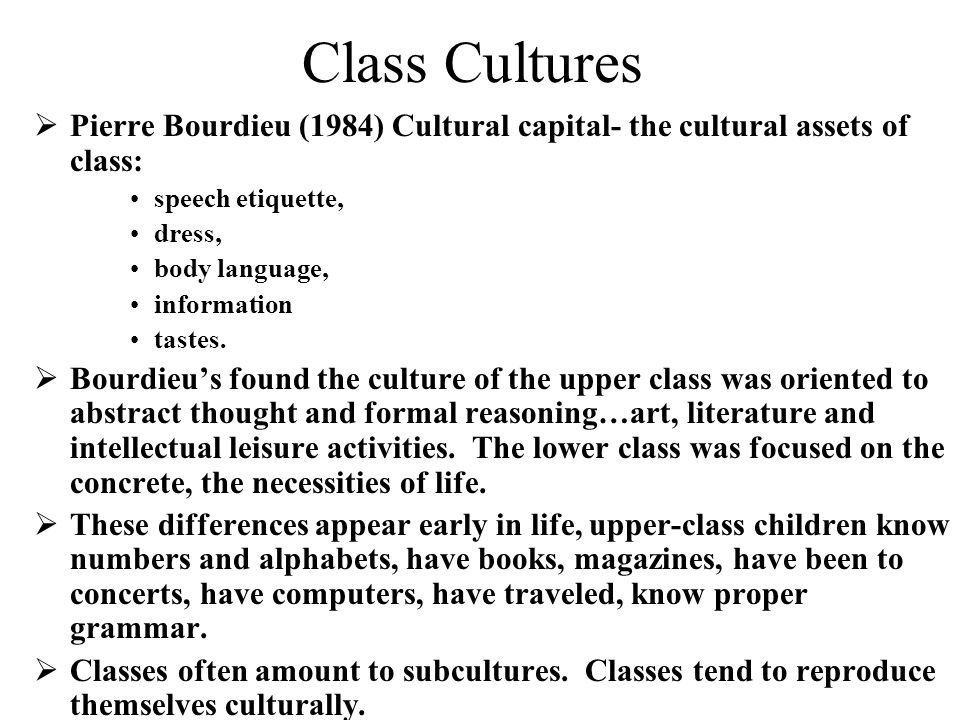 artistic taste and cultural capital pierre bourdieu With pierre bourdieu and richard a peterson as our points of departure, this   thus, cultural capital may exist in two forms: distinct tastes and cultural repertoire   social class and arts consumption: the origins and consequences of.