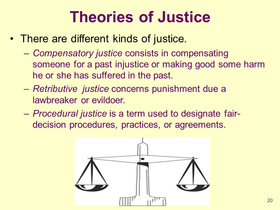 A Theory of Justice Analysis