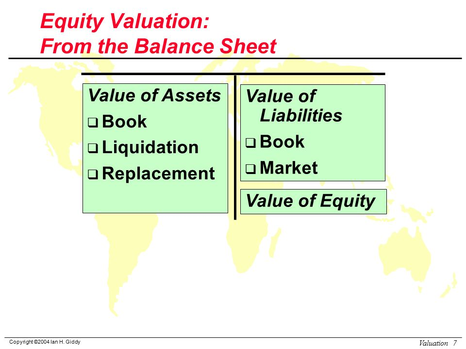 book value liquidation value and market Liquidation value is an estimation of the final value which will be received by the holder of financial instruments when an asset is sold or liquidated  unlimited ltd listed a market capitalization of $500 million on the stock exchange the company also reported liabilities totaling $150 million and a book value of $400 million the.