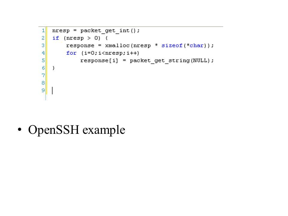 OpenSSH example