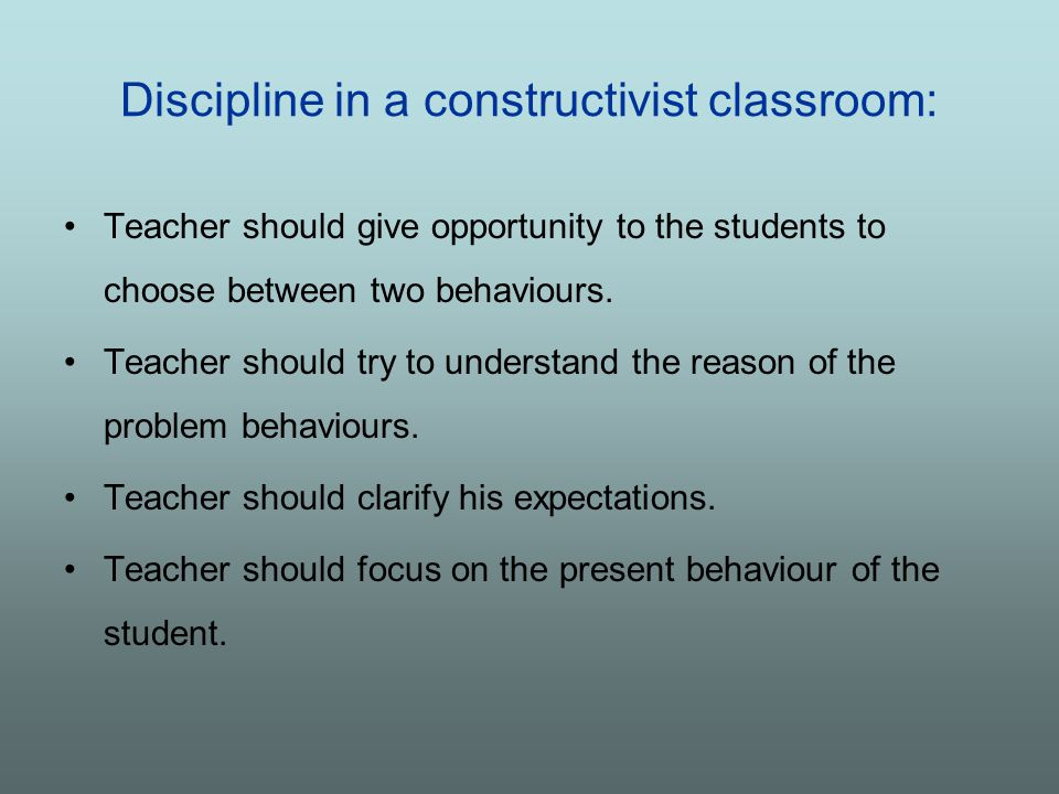 what disciplinary sanctions should teachers be The policy should outline what the school will do if your child's behaviour falls  below these standards  but schools also need sanctions to deter pupils from  misbehaving  you can explain your reasons to your child's teacher or  headteacher.