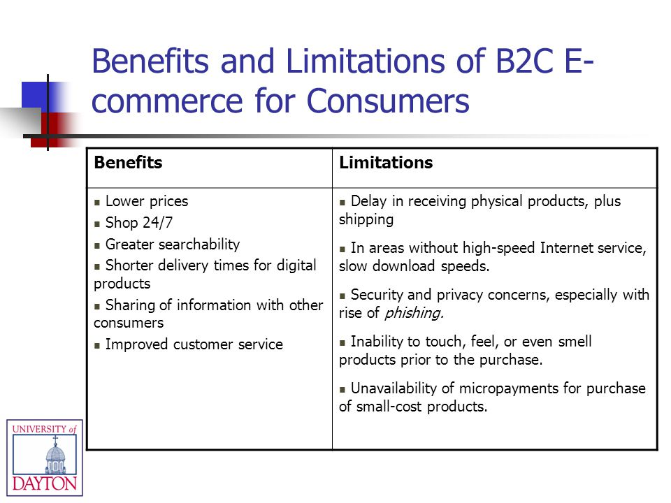 benefits and limitations of ecommerce E-commerce or electronic commerce can be defined as any commercial transaction that happens over the internet every business exchange occurs electronically.