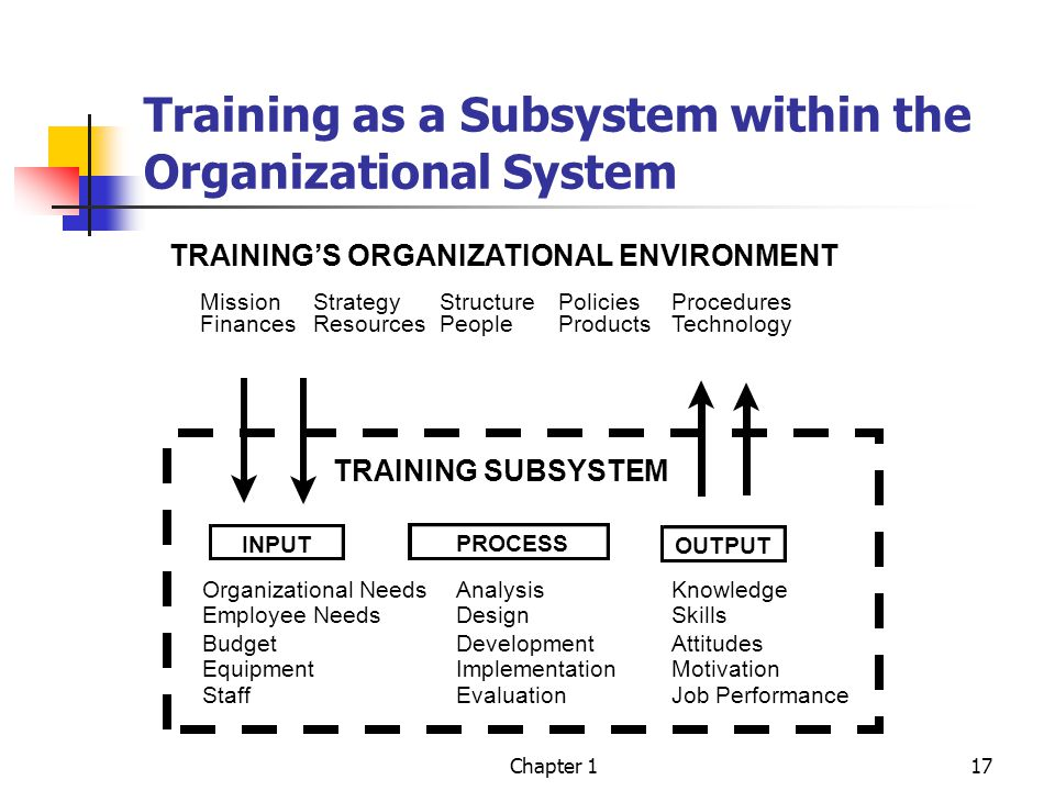 analysis of the organizational training system Organizational analysis organizational goals • information systems support team work • training and development • socialization.