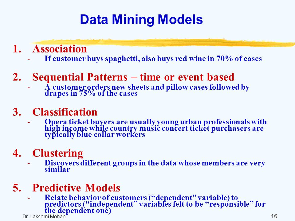 data mining to model wine preferences Predict wine preferences using outlier detection wine tasting is if we can recognize their preferences using data mining processing from the.