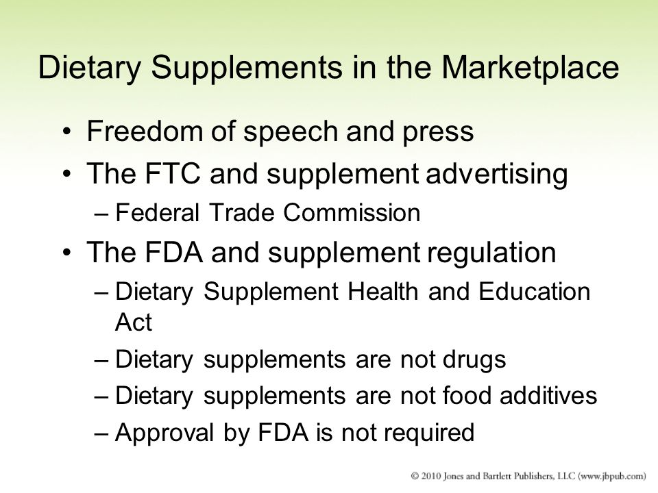 Natural Health Products Regulations Of The Food And Drugs Act