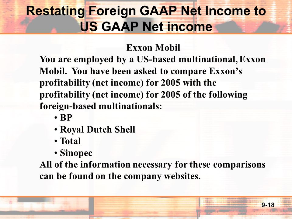 us gaap and foreign companies essay Adoption of ifrs in the united states essay - economics  doing away with the use of united states gaap and transitioning to ifrs  by foreign companies.