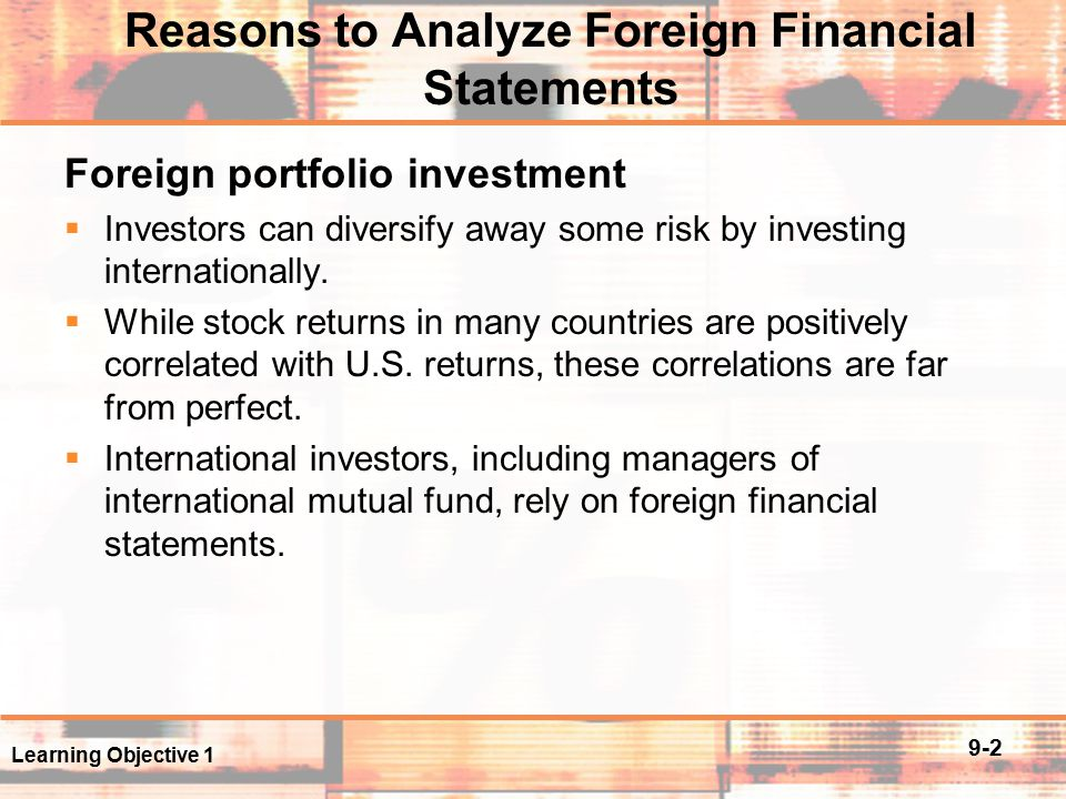 analysis of foreign portfolio investment in The 1990s saw global flows of foreign direct investment increase some sevenfold , spurring economists to explore fdi from a micro- or trade-based perspective.