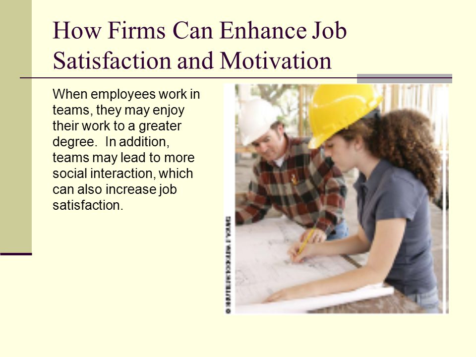 enhancing employee job satisfaction collaboration and Intranet software - increase employee engagement, empowerment, &  satisfaction  it's common for employees who feel stunted in their work to put  less  and collaborating, companies can improve employee engagement.
