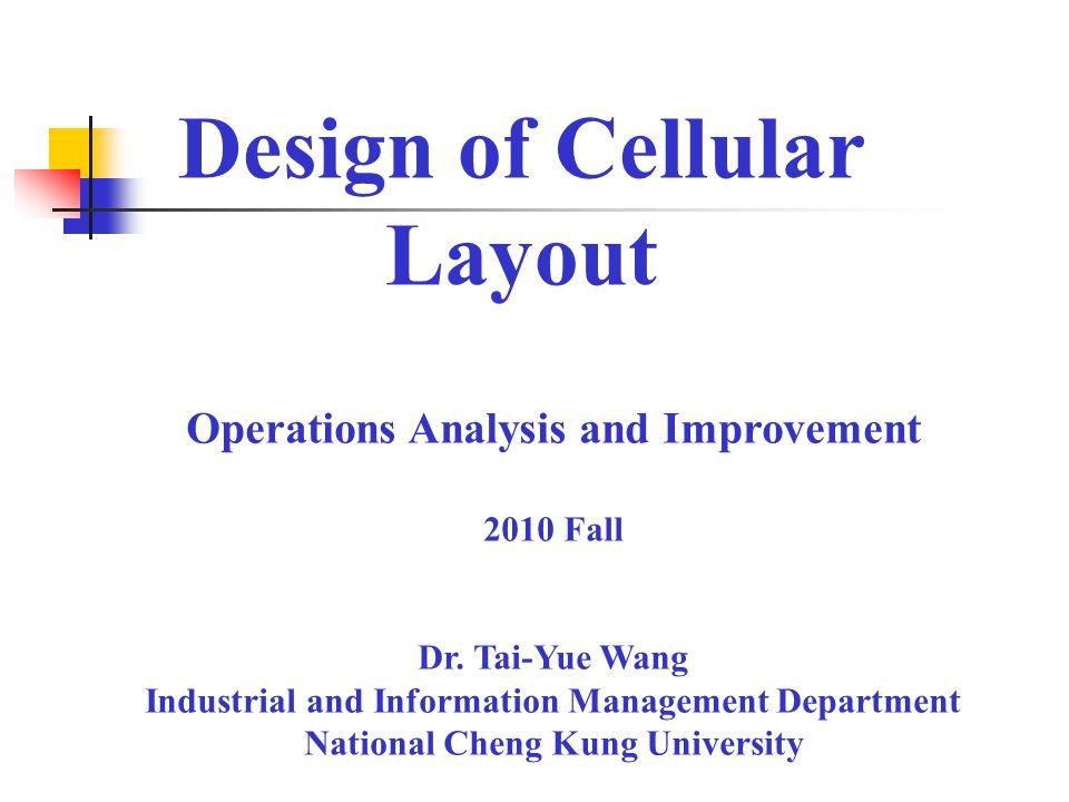 cellular layout