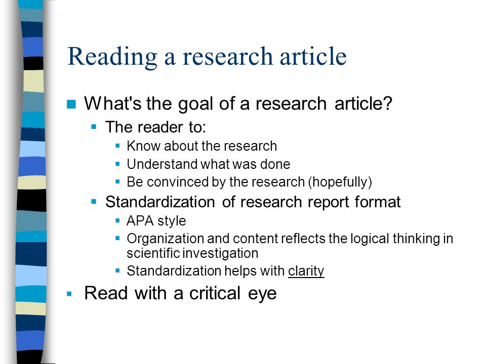 critical thinking research articles The cla+ measures critical thinking, analytical reasoning, problem  to use  spreadsheets, newspaper articles, research papers and other.