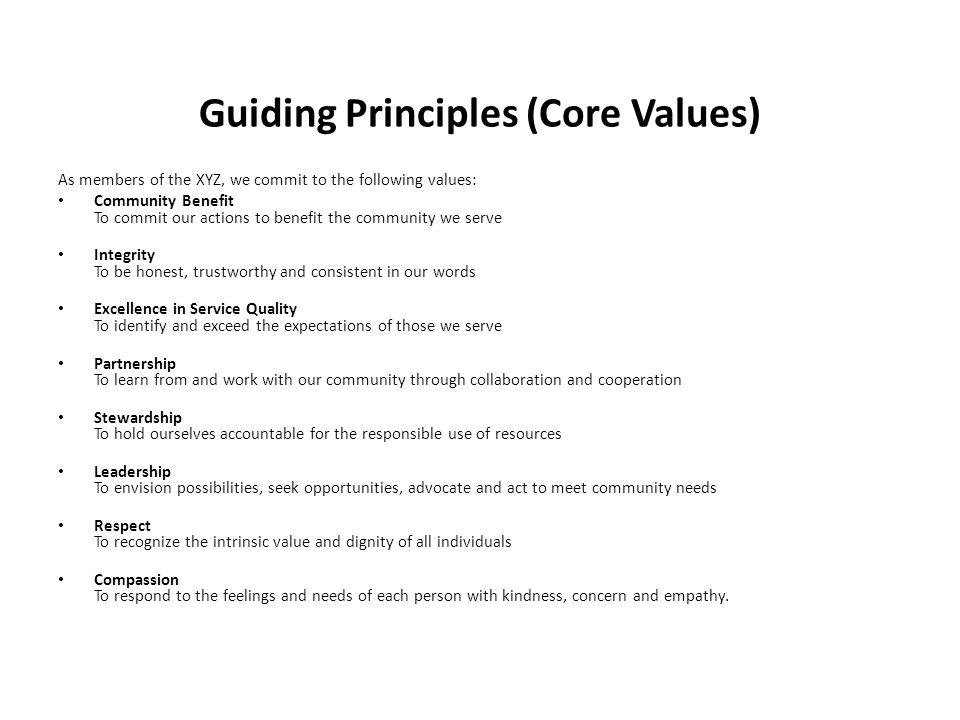 core values of integrity and responsible stewardship And administration), the core values of the profession, and the multiple  (core  value: integrity)  physical therapists shall be responsible stewards of health.
