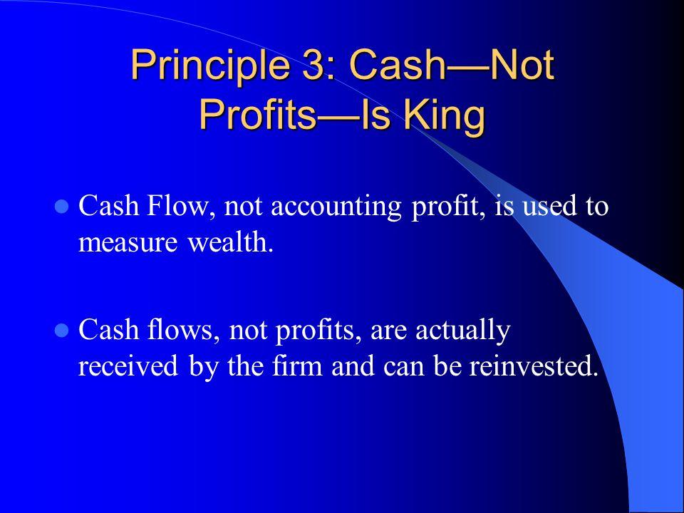 Principle 3: Cash—Not Profits—Is King