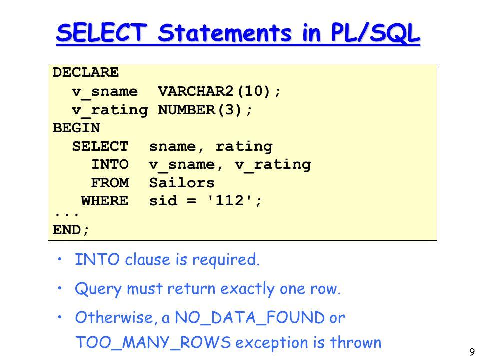 p l statements