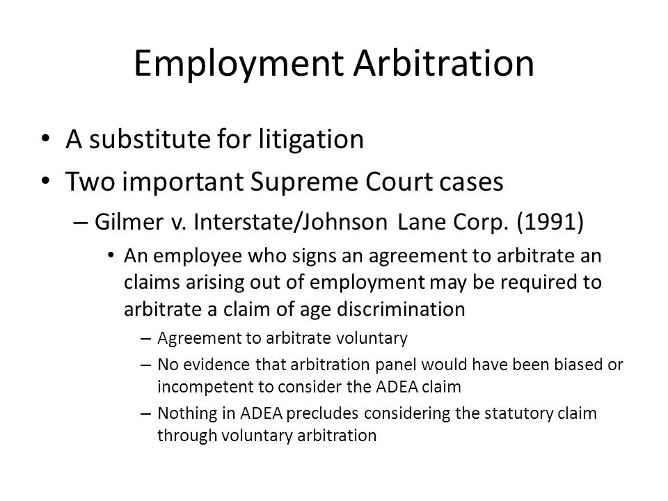 Arbitration: History, Theory, Rationale, Legal Status - Ppt Download