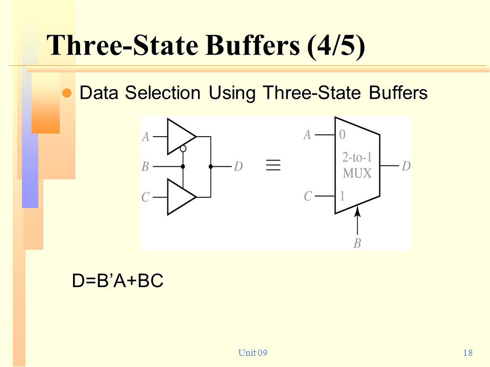 Three-State Buffers (4/5)