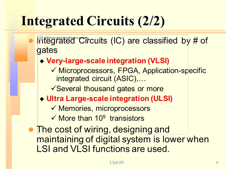 Integrated Circuits (2/2)