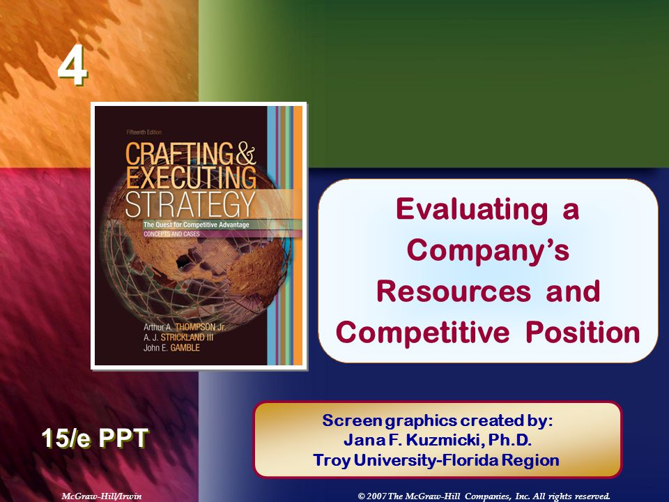 resource and competitive position analysis View resource and competitive position analysis from marketing 230 at argosy university resource and competitive position analysis 1 the restaurant industry is a competitive industry.