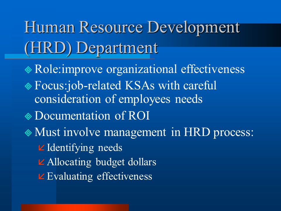 human resources organizational effectiveness essay Below is an essay on organizational effectiveness from anti essays,  the inputs of the open system include raw materials, human resources, information,.