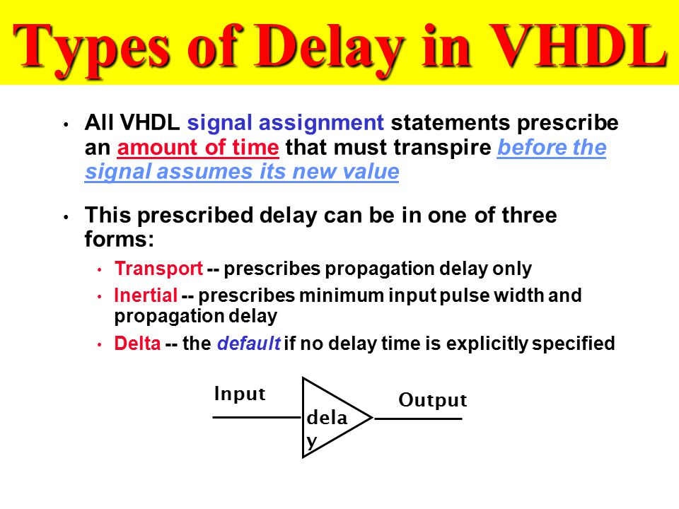 Vhdl signal assignment keep value