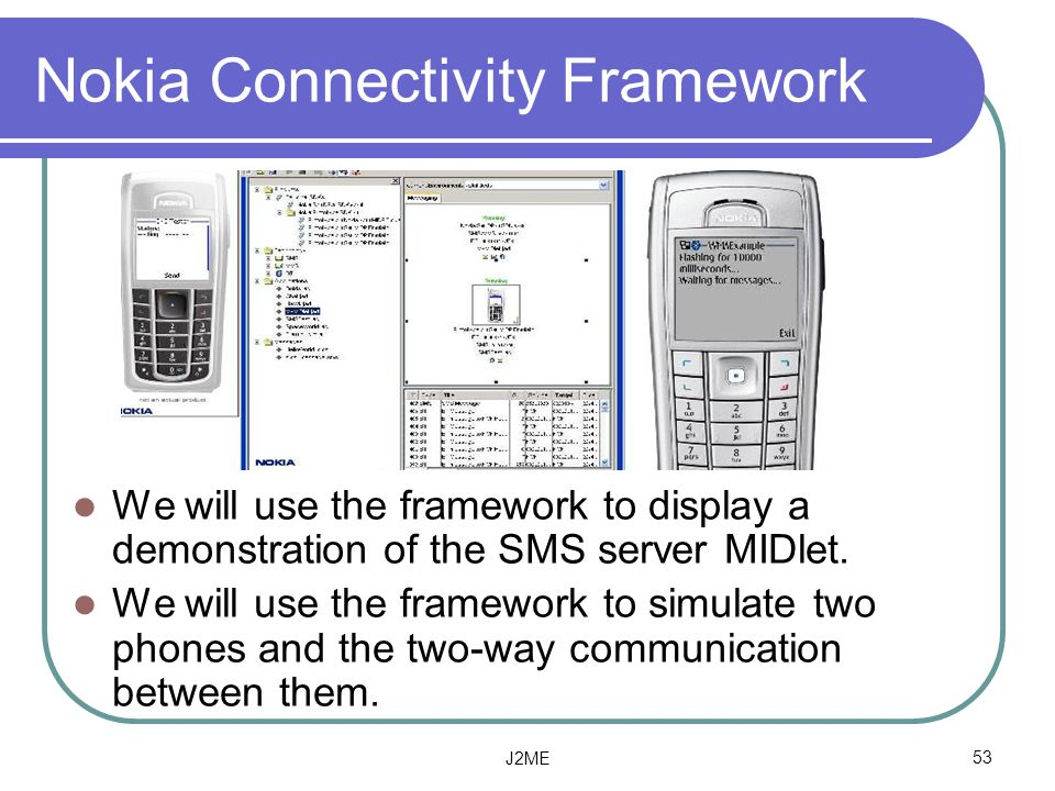 Nokia Connectivity Framework