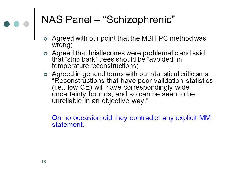 NAS Panel – Schizophrenic