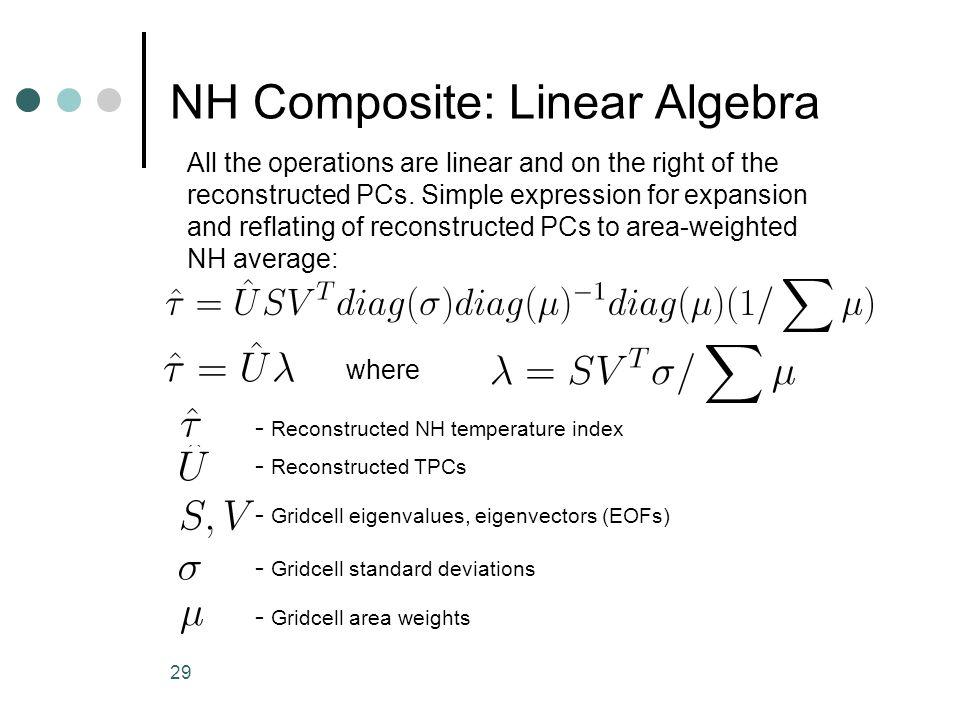 NH Composite: Linear Algebra